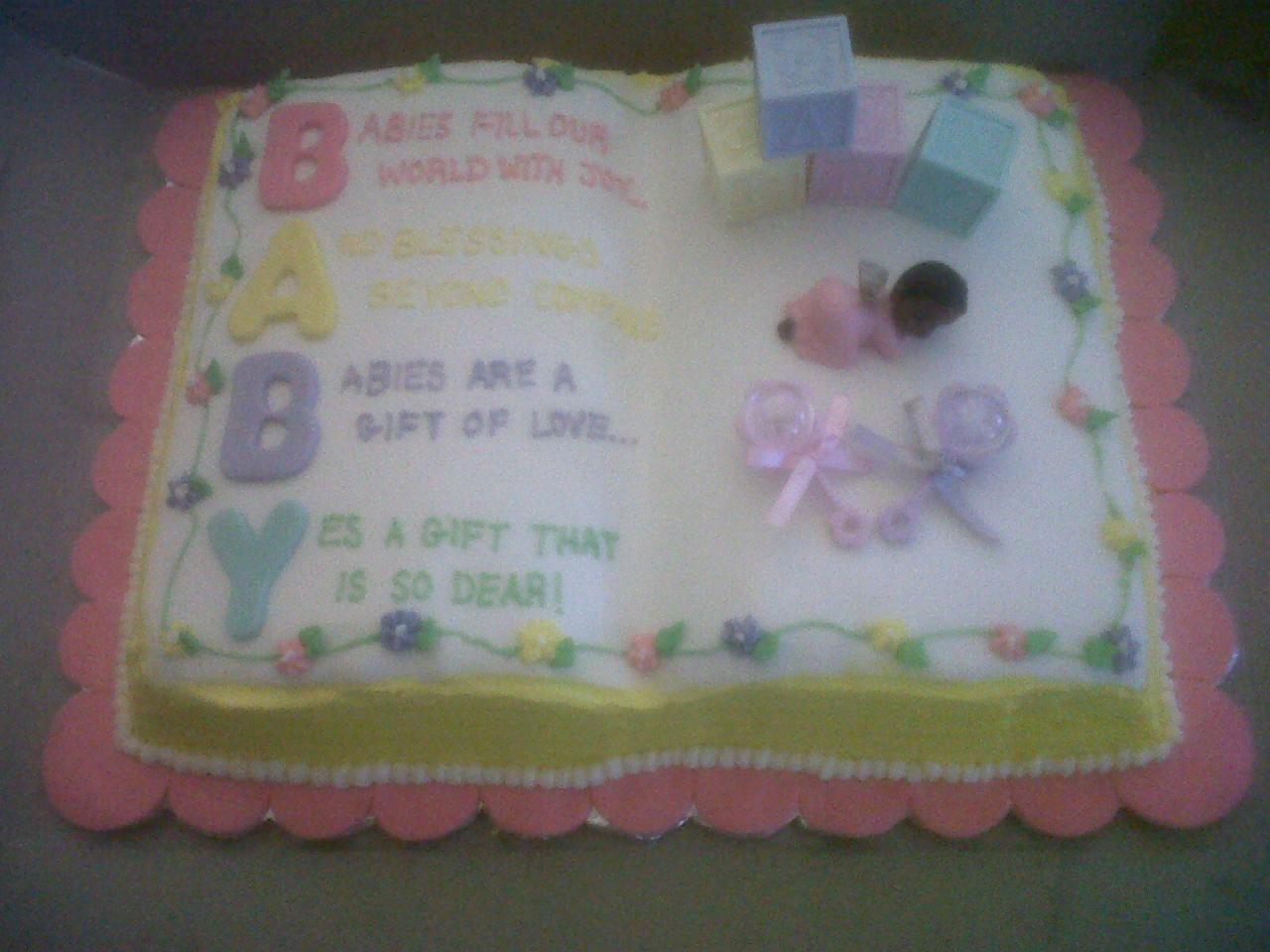 baby shower girl sheet cakes baby shower cakes gallery