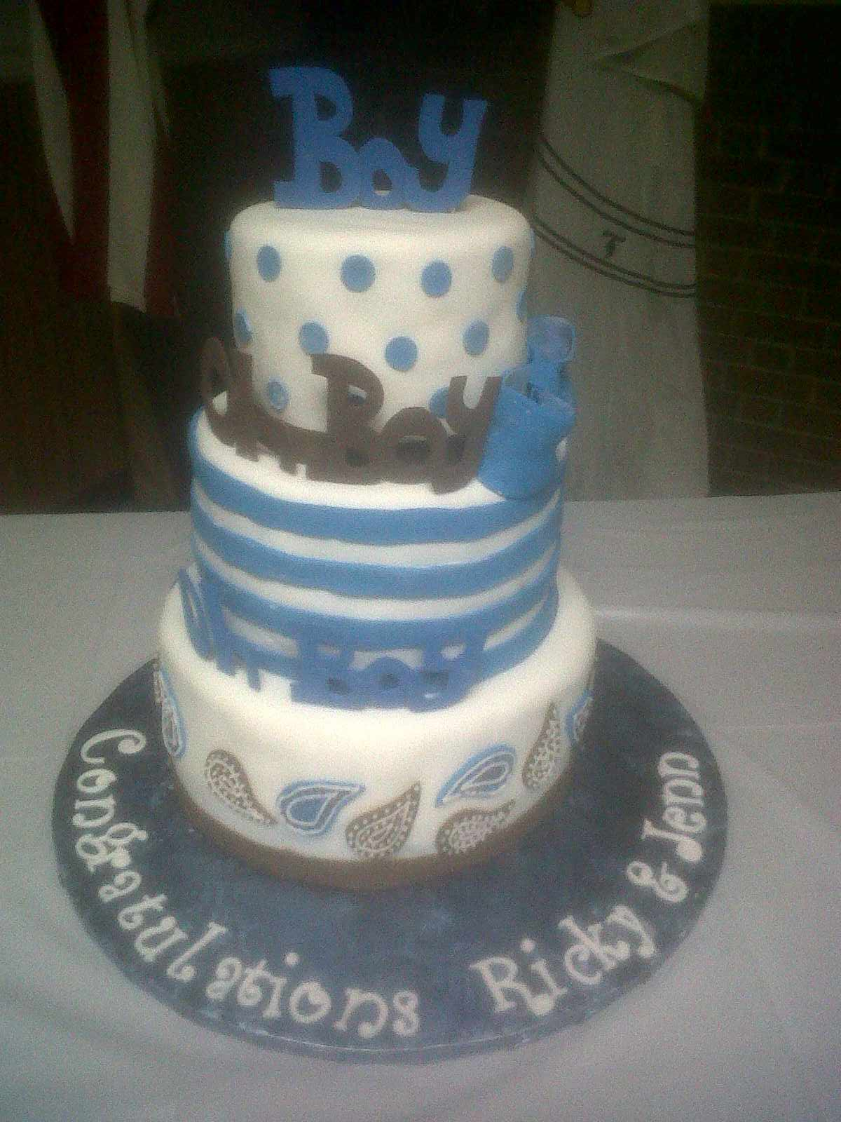 Stacey s Cakes and Creations Baby Shower Cakes Gallery